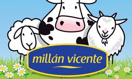 Millán Vicente dona más de 1500 kilos de queso