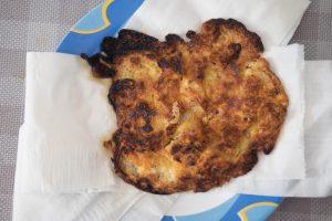 huevo quemado