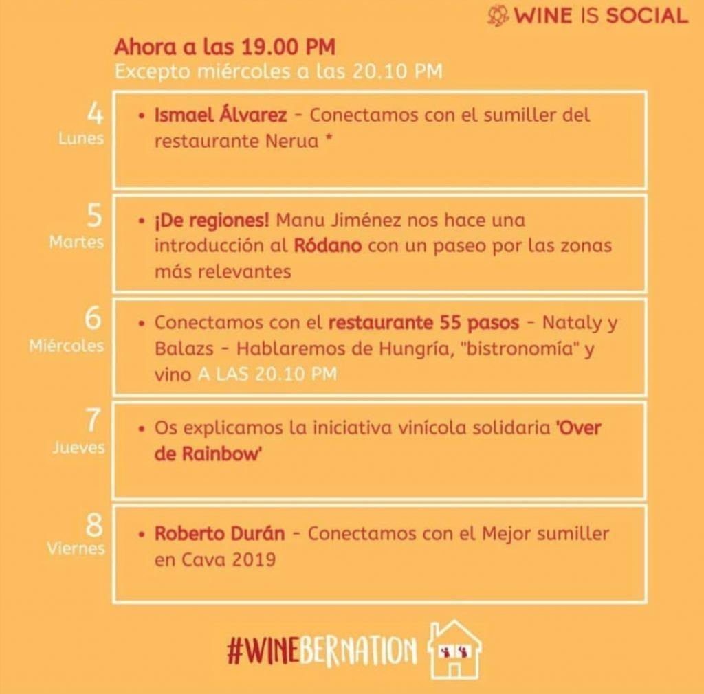 Wine is social
