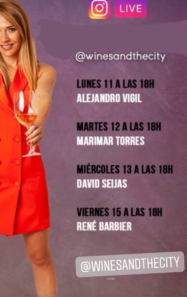 Charla sobre vino Wines and city