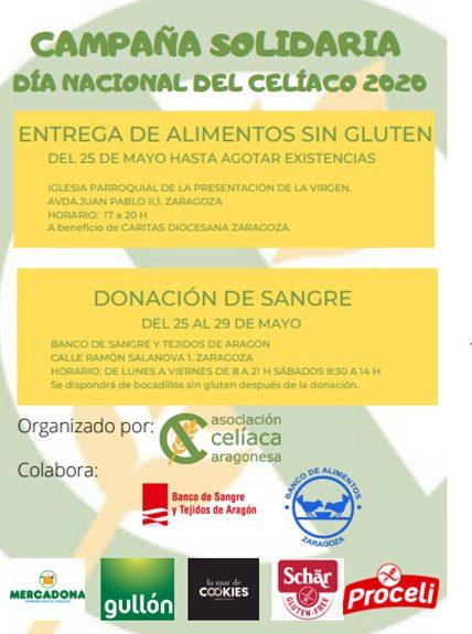 Campaña Solidaria Asociación Celíaca Aragonesa