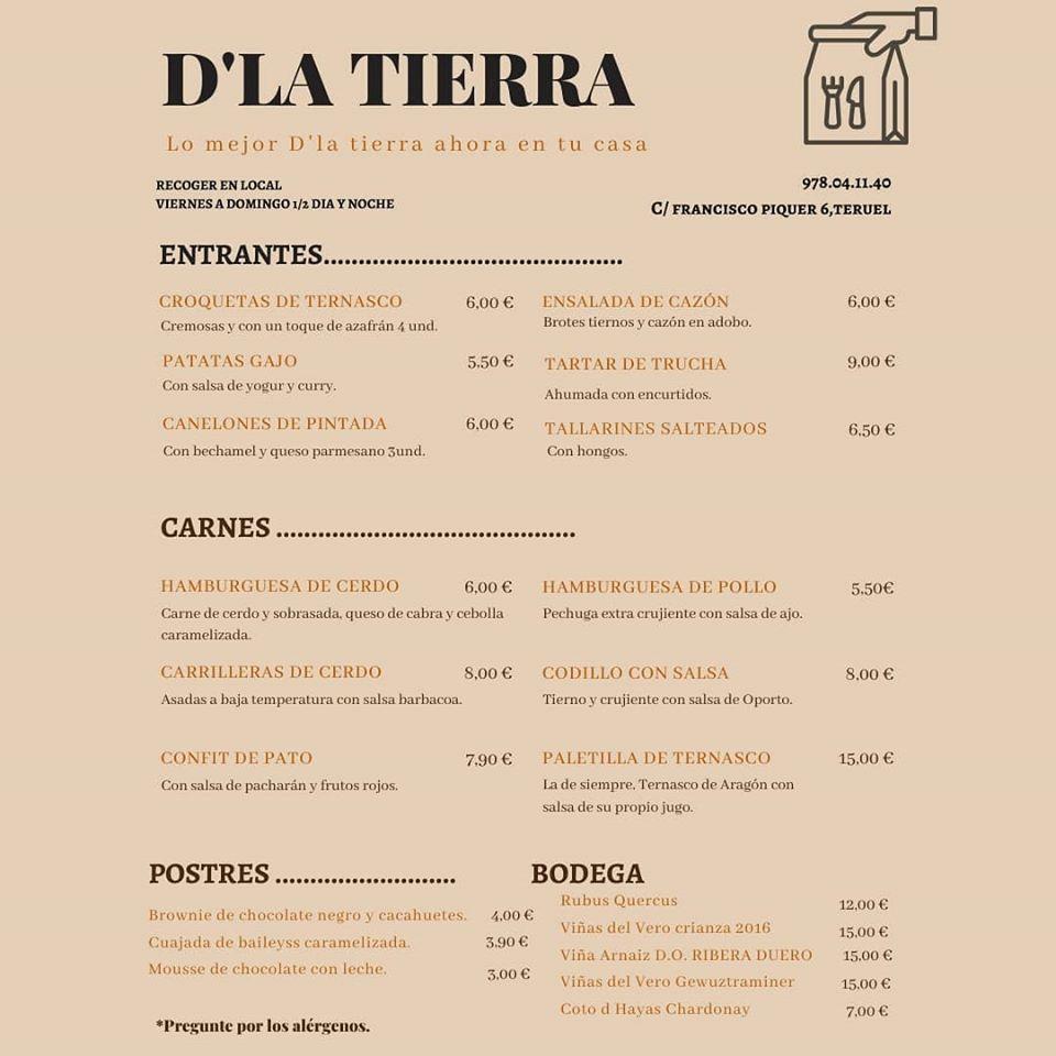 Restaurante D'la tierra