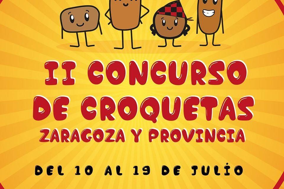 Las croquetas vuelven a conquistar Zaragoza, hasta el 19 de julio