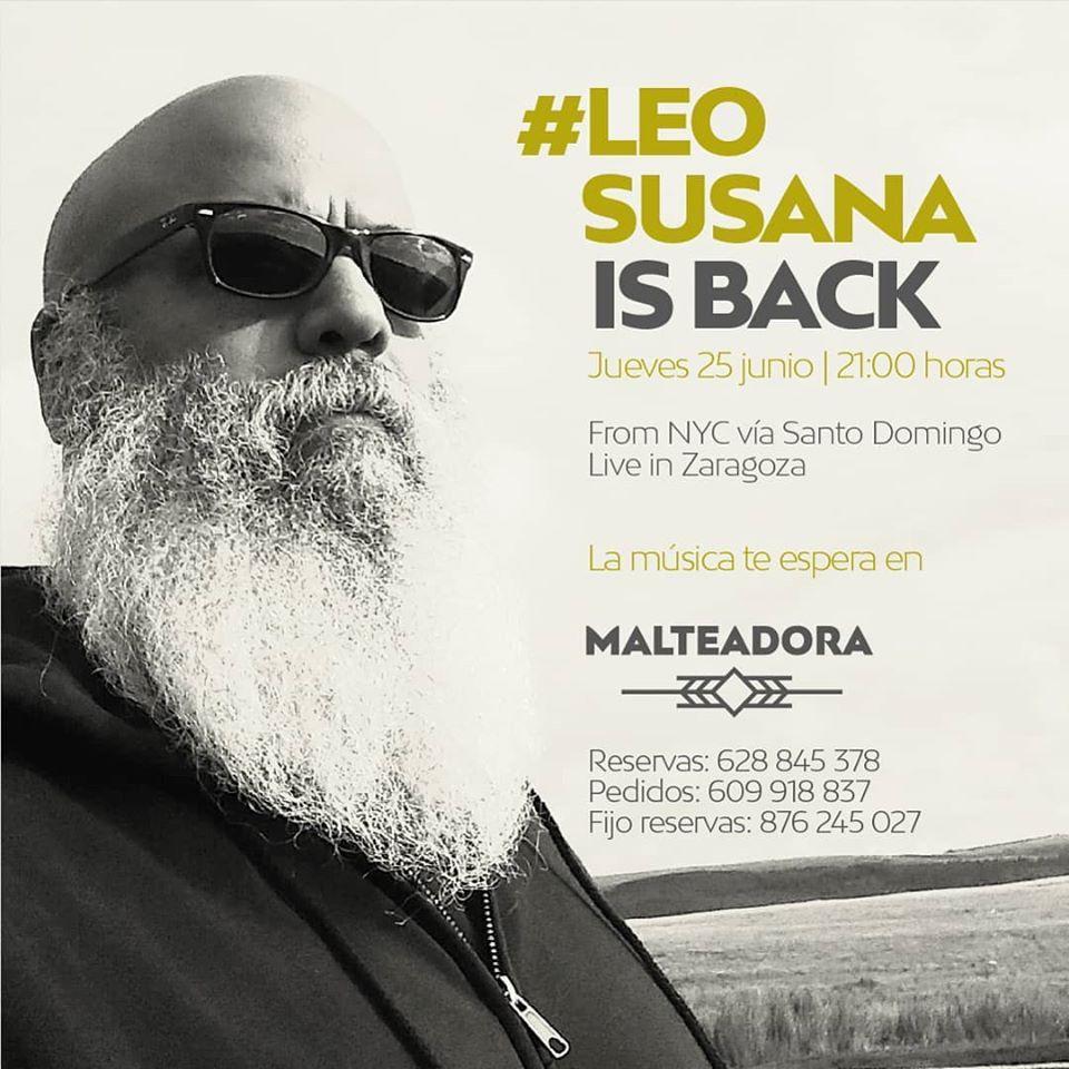 Concierto de Leo Susana en La Malteadora