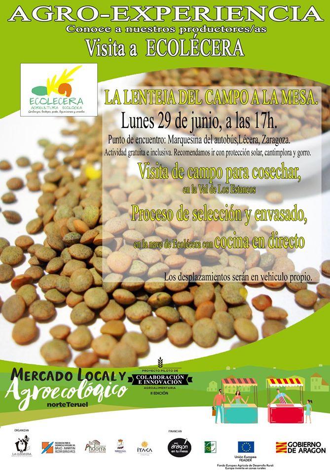 Agro-experiencia en Ecolécera