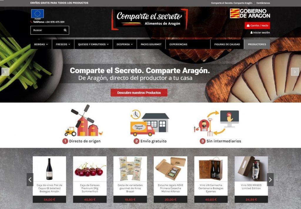 20-06 tienda Alimentos Aragón