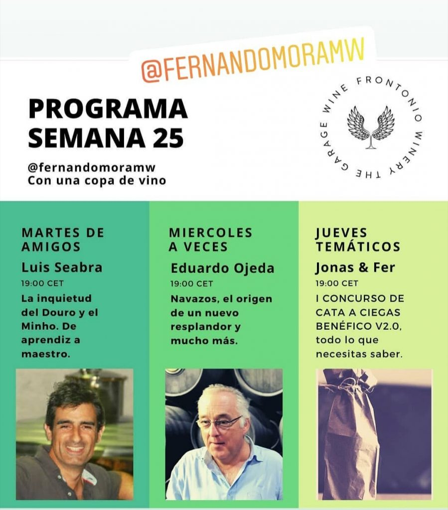 Charlas sobre vino con Fernando Mora