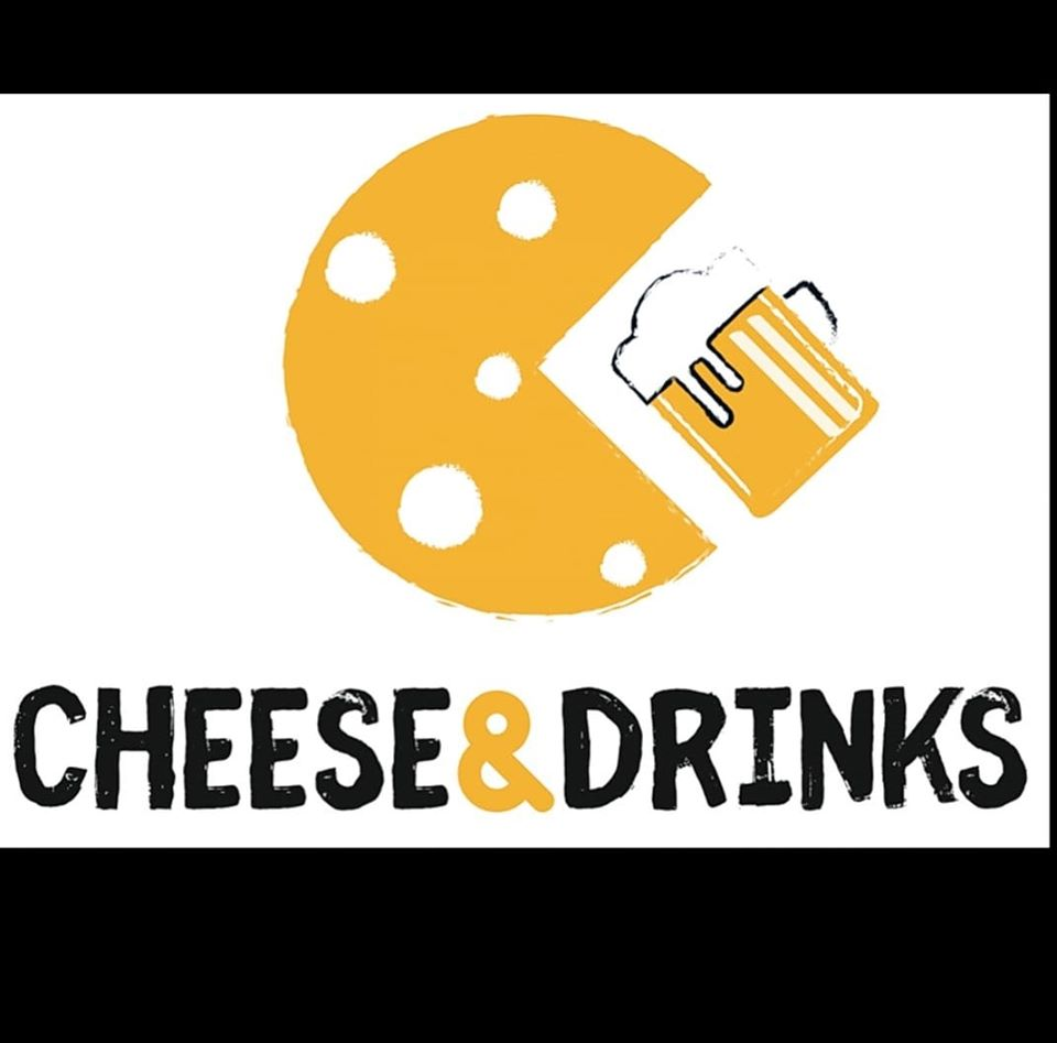 Cheese and drinks