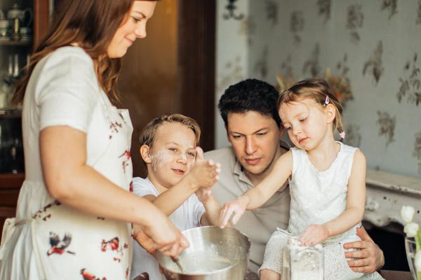 Cocina en familia - Escuela Azafrán