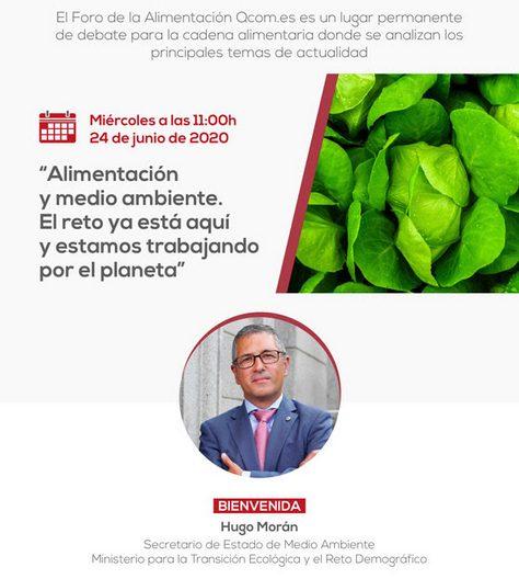 Foro Alimentación y medio ambiente. El reto ya está aquí y estamos trabajando por el planeta