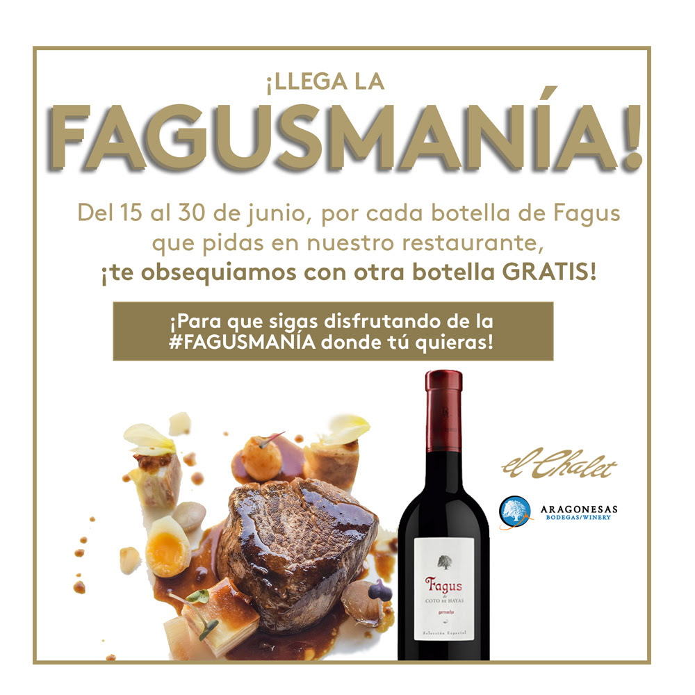 Fagusmanía en El Chalet