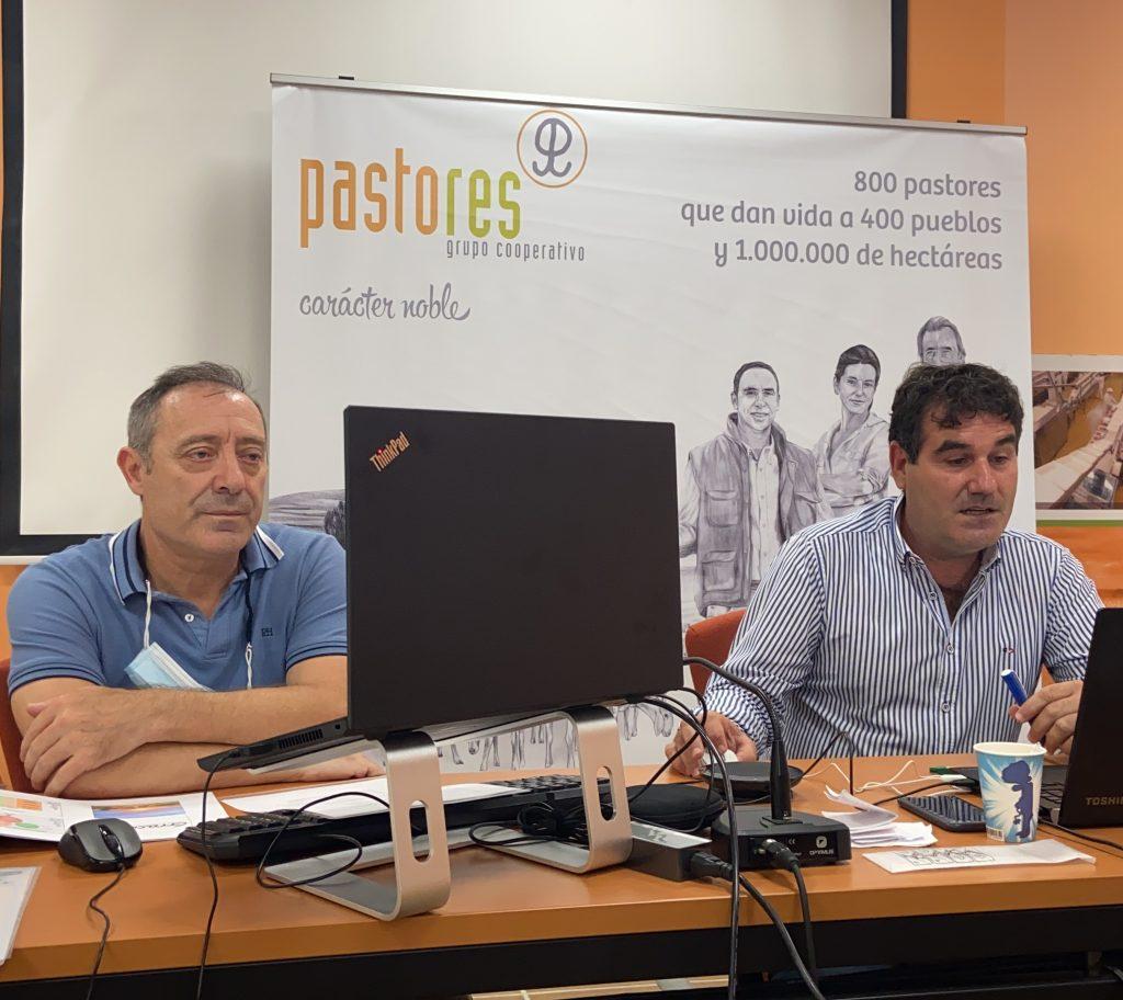Ángel Tarancón y Fran Santolaria Pastores