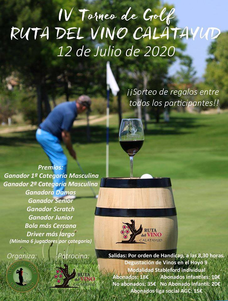 Torneo de Golf DO Calatayud
