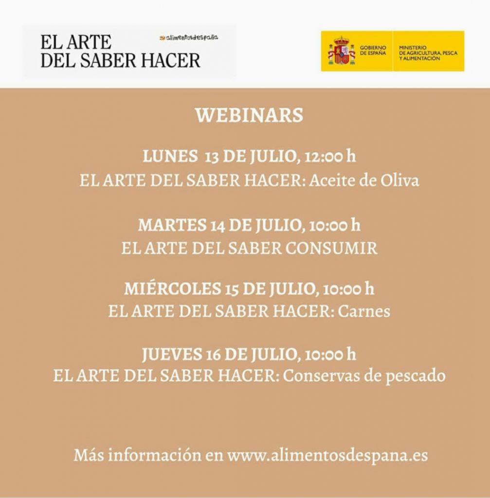 Webinars Alimentos de España
