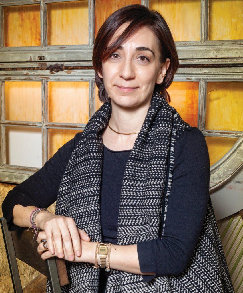 Elisa Plumed por Nines Mínguez