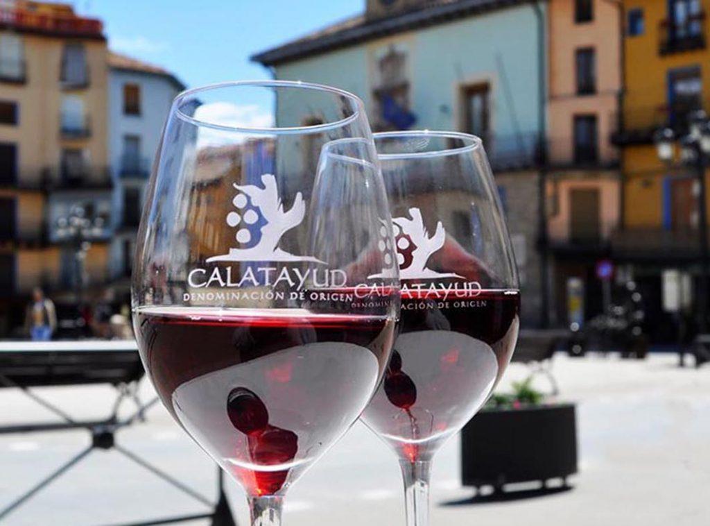 copas vinos DOP Calatayud