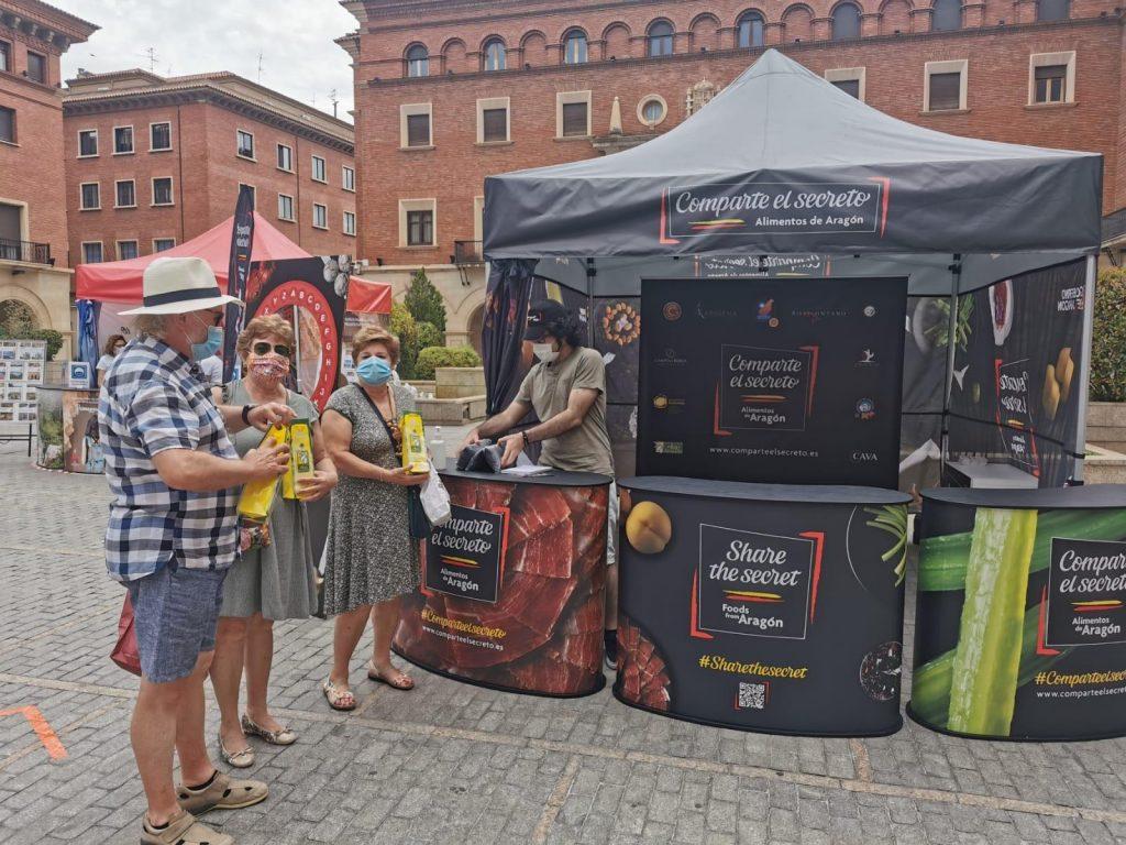 Carpa Aragón Alimentos Comparte El Secreto en Teruel
