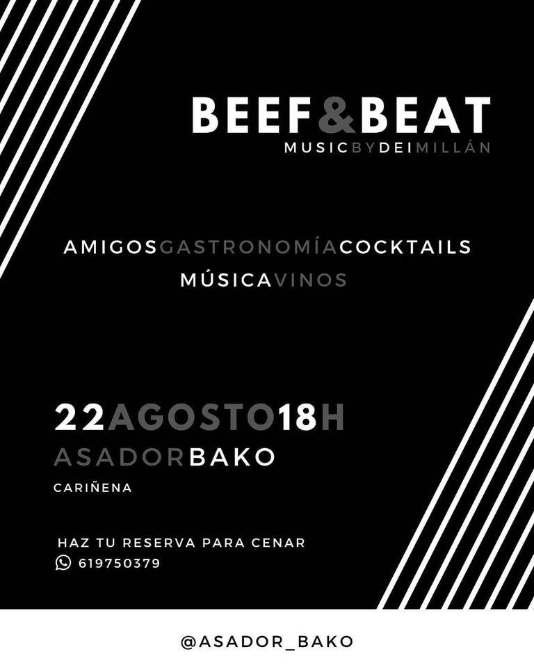 Terraceo y cena con música en directo - Asador Bako