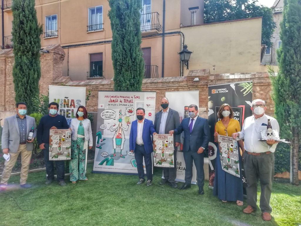 20-09 Presentación tapas Teruel