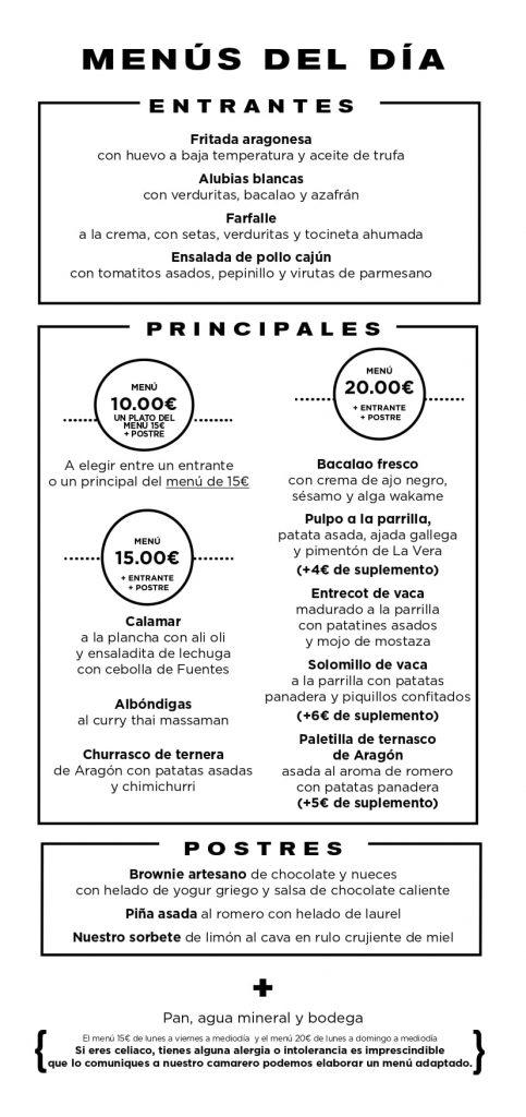 28 sept menu ALBARRACIN