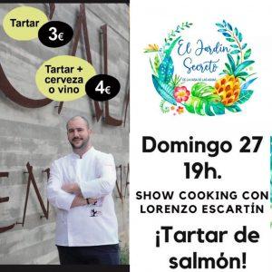 Lorenzo escartín cocina