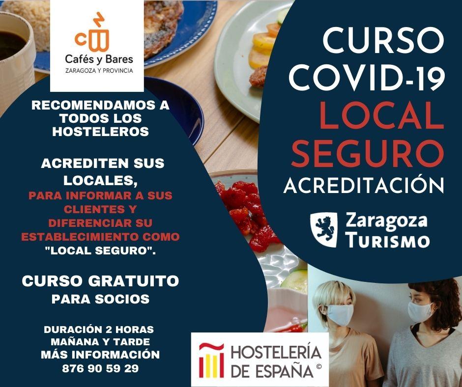 Curso Covid Local Seguro - Cafés y Bares