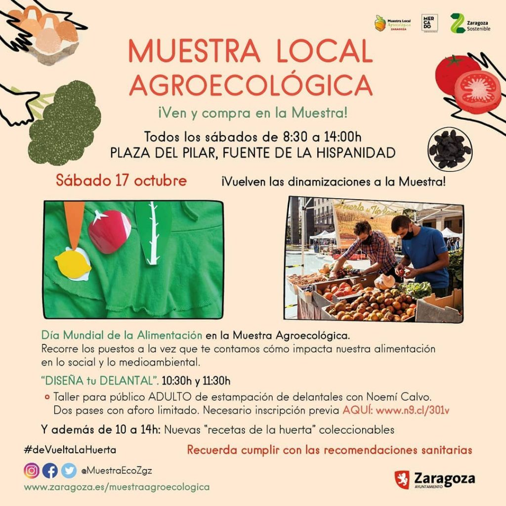 17 oct Muestra agroecologica