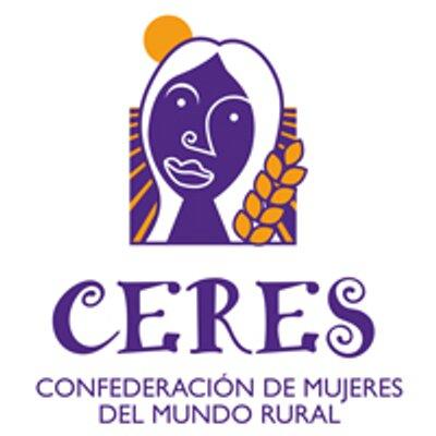 Ceres mujeres mundo rural logo