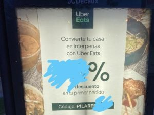 Interpeñas uber