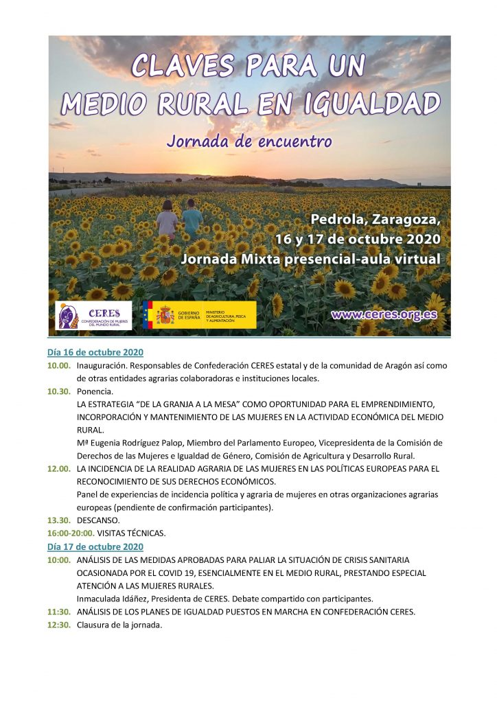 Programa Encuentro CERES (borrador)