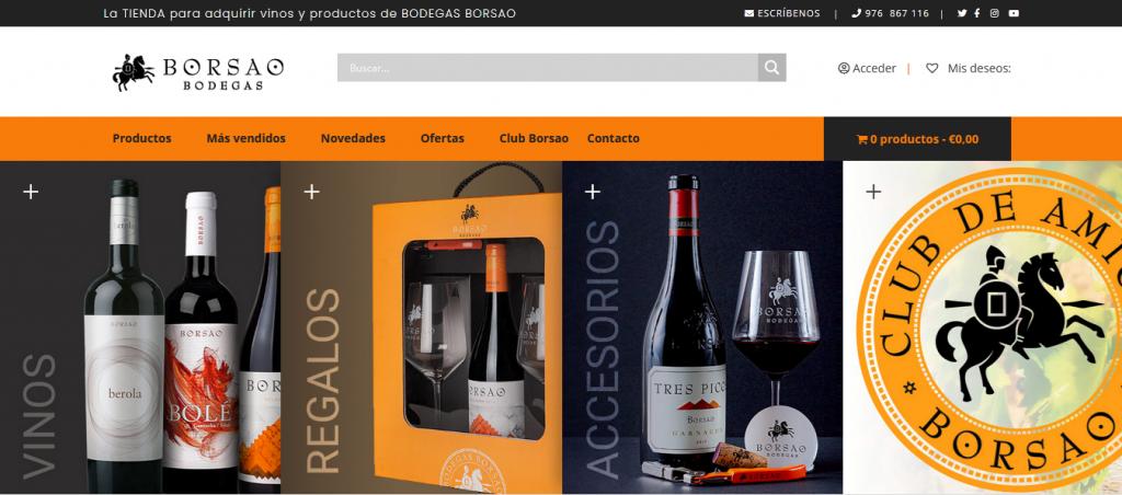 Tienda Online Bodegas Borsao