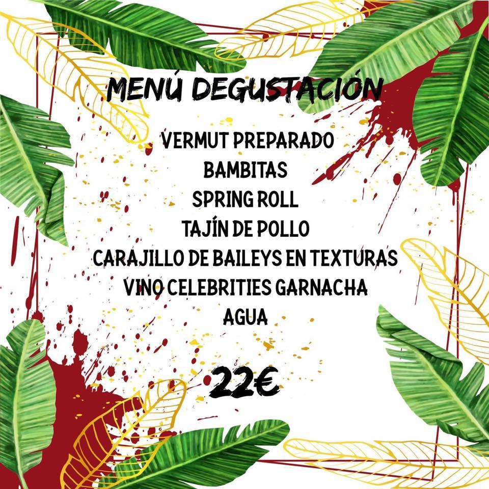 Menú degustación Lambamba- El Viejo Negroni