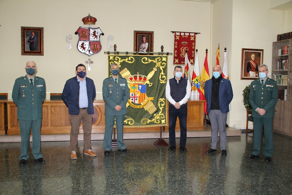 Guardia Civil y DOP Calatayud