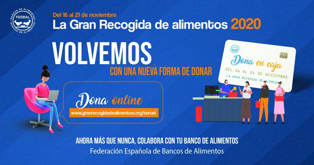 Campaña recogida de alimentos - Teruel