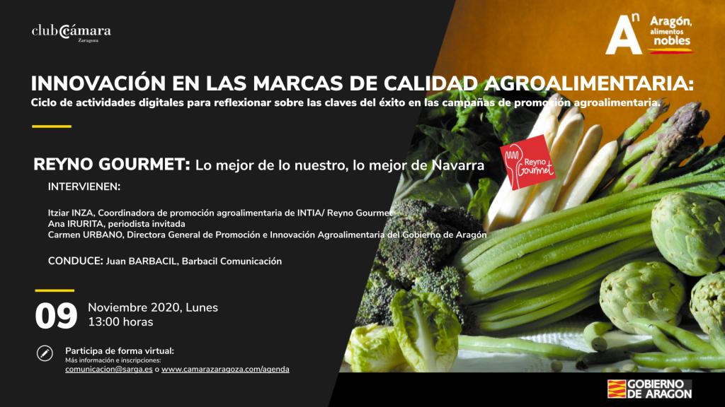 REYNO_GOURMET_Ciclo Aragón Alimentos Nobles