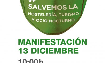 Manifestación de la hostelería el domingo, 13 en Zaragoza