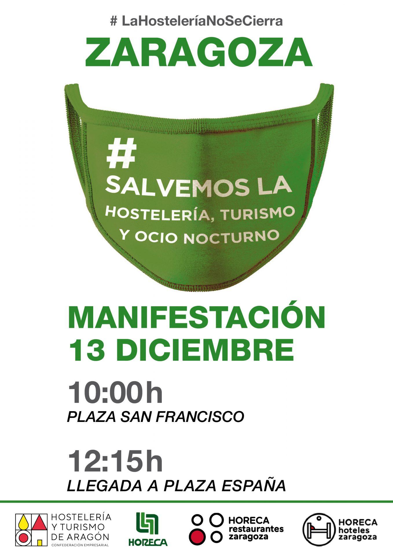 Hostelería 20-12-13 manifestacion