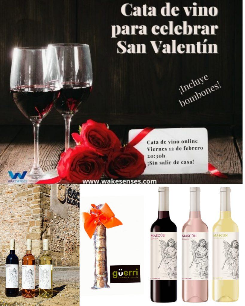 Cata de vino online - Osca