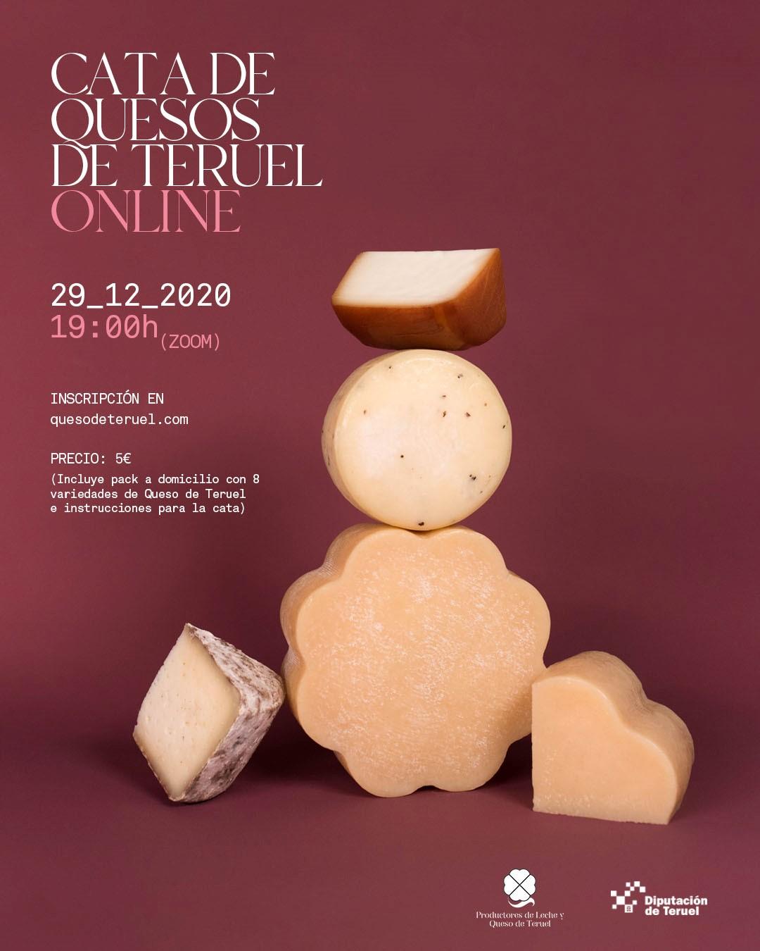 Cata de quesos de Teruel