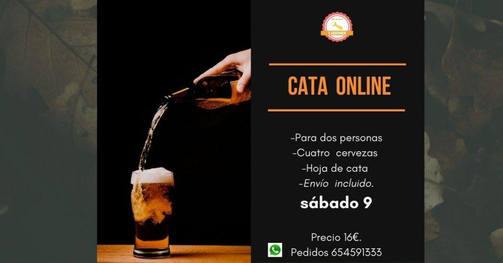 Cata de cerveza online Liquidos
