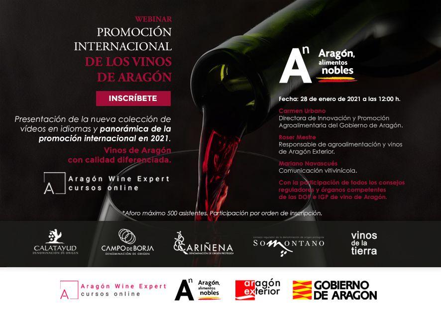 Presentación webinar promoción internacional vino