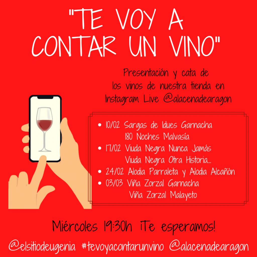 Te voy a contar un vino - La Alacena de Aragón
