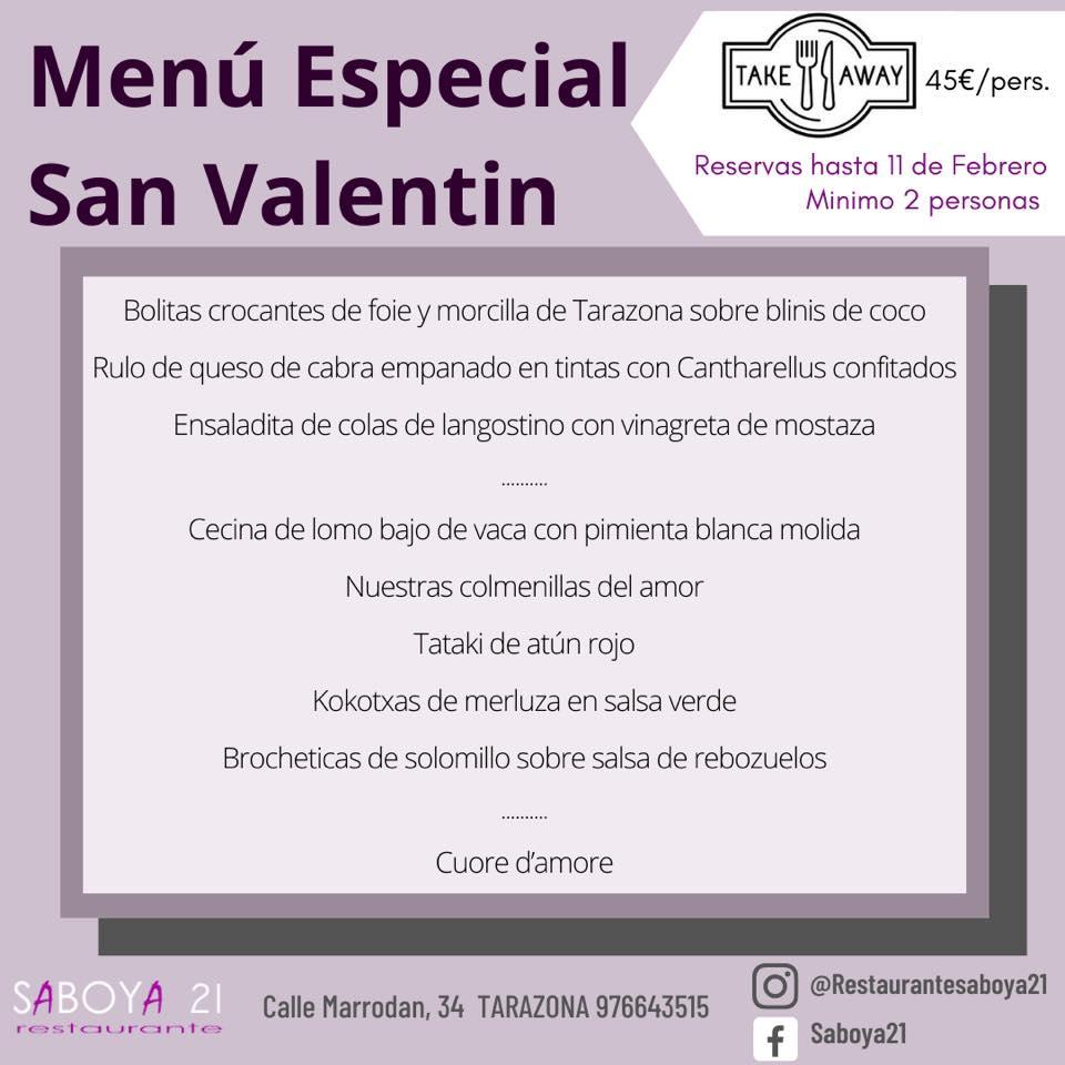 Saboya 21 - San Valentín