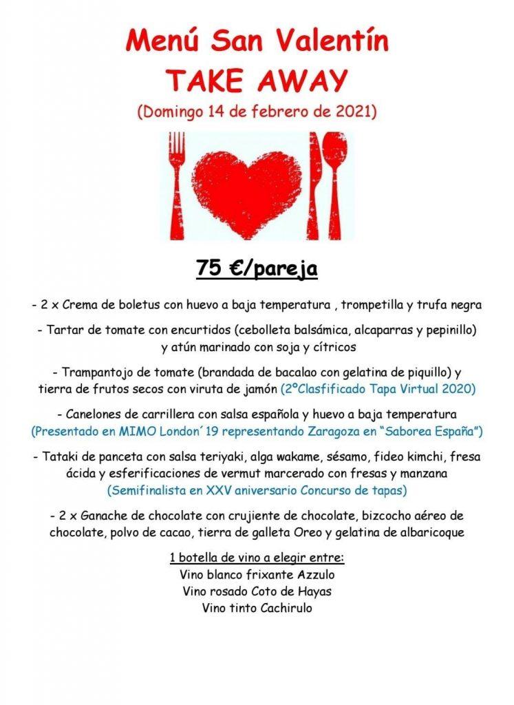 Menú de San Valentín - Mazmorra