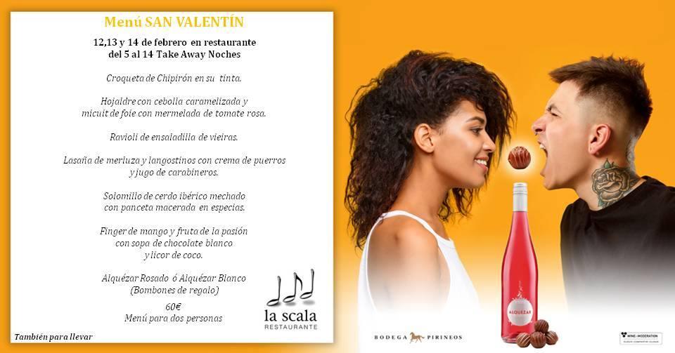 Menú San Valentín - La Scala