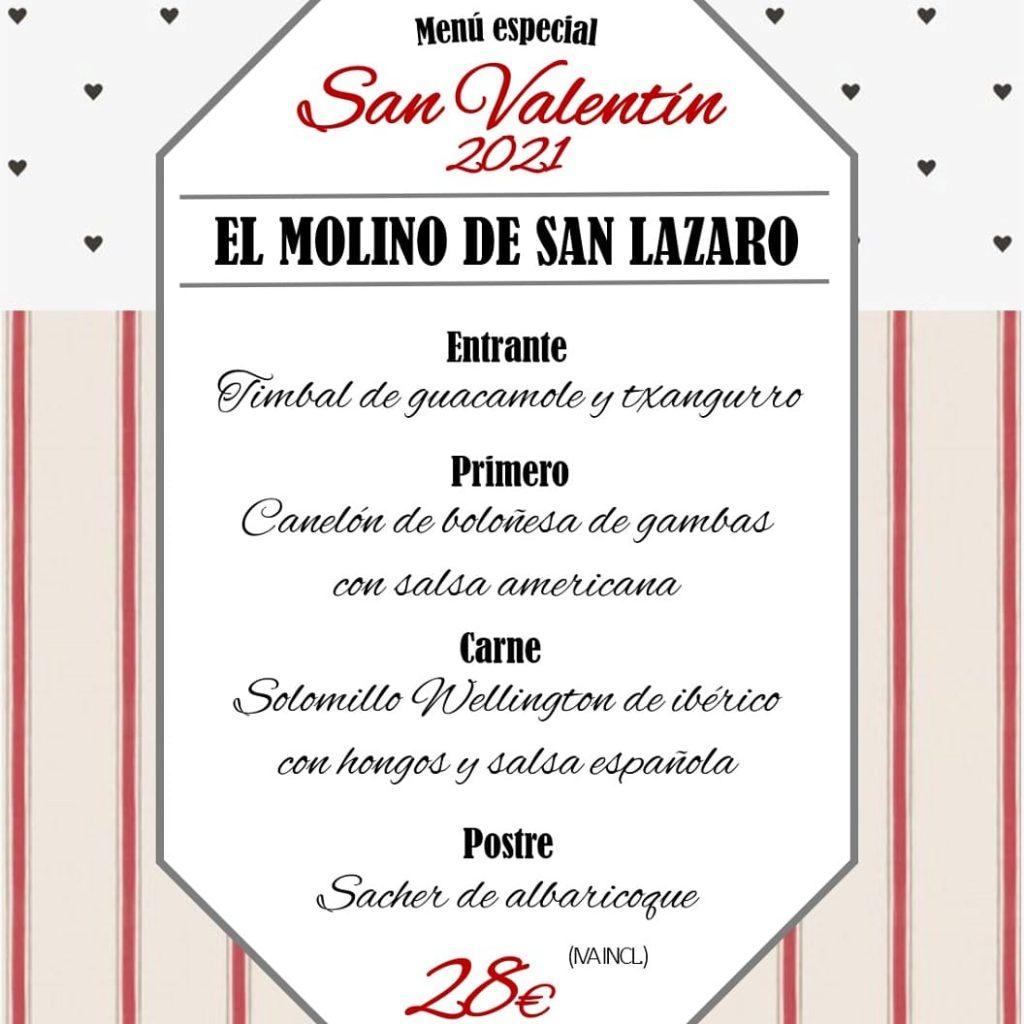 San Valentín - Molino de San Lázaro