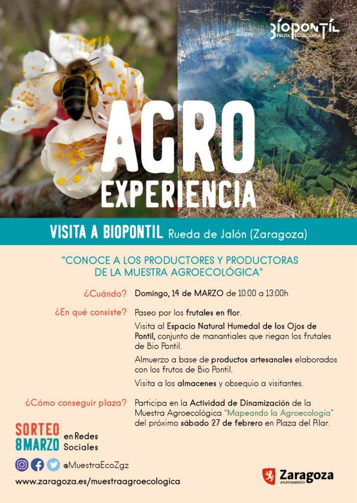 Agroexperiencia Biopontil - Muestra Agroecológica de Zaragoza