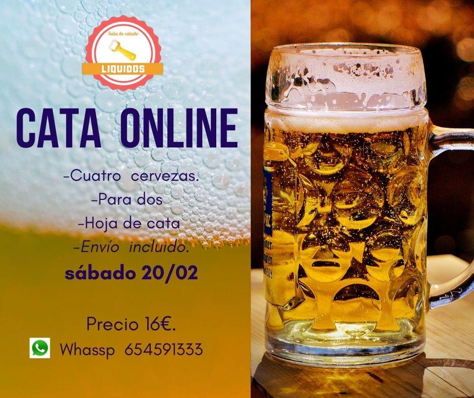Cata de cerveza online