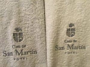 ENO San Martin 6 toalla POROS
