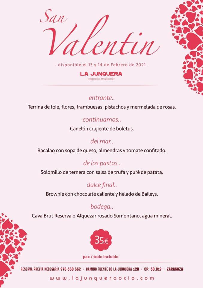Junquera - San Valentín